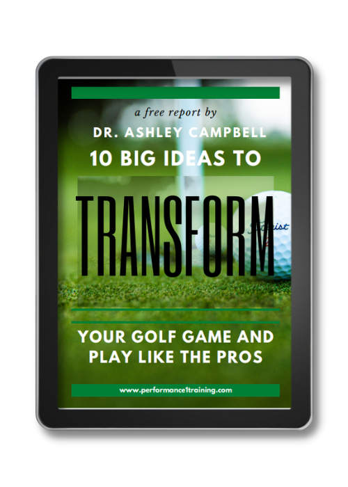 Free golf guide to improve your game from Performance ONE training in Nashville, TN